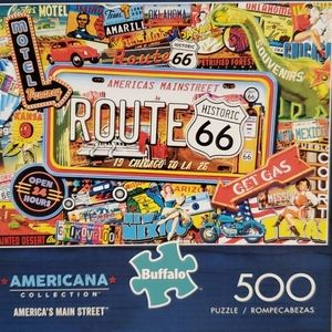 Route 66 America's Main Street Puzzle